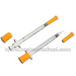 Disposable Insulin Syringe