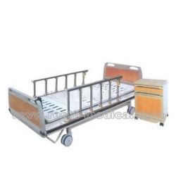 Luxury central-control nursing bed