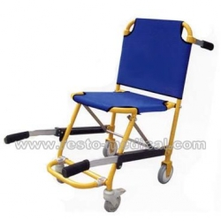 Special-purpose stretcher of the stair