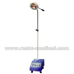 Mobile emergency OT lamp one hole