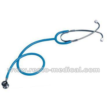 Neonatal dual head stethoscope