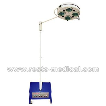 Mobile emergency OT lamp 4 holes