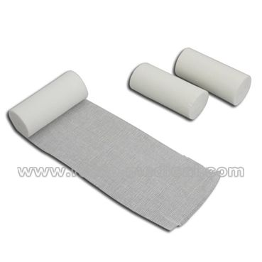Gauze Bandage with Woven Edge