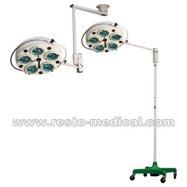 Shadowless operation lamp with 5 reflectors