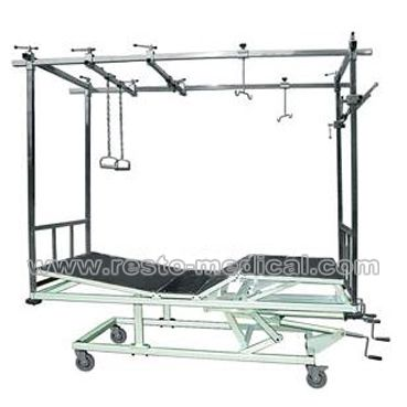 Orthopaedic traction bed