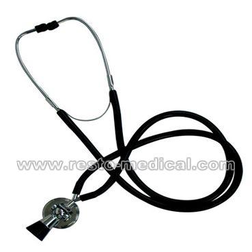 Dual head fetus stethoscope