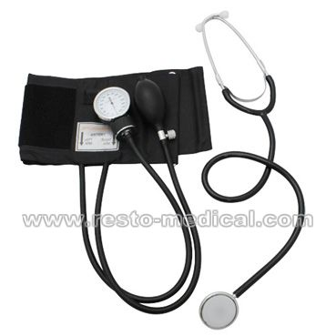 Aneroid Sphygmomanometer with Separate Stethoscope