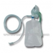 Oxygen mask with reservoir bag