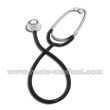 Pediatric dual head stethoscope