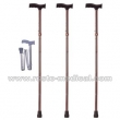 Fold away walking stick